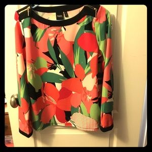 Multicolor designer blouse
